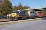Southbound work train