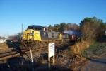 Train Q541-22 at Junta