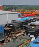 LTEX Locomotive Shops