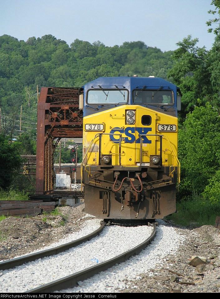 CSX 378 on N264-01