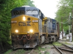 CSX 824 leading Northbound Coal