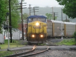 CSX 7830 leadin' Q240 Northbound