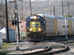 CSX 8328 leading Q272 Northbound