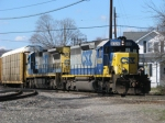 CSX Q272 Northbound