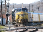 CSX 7779 leading Q272 Northbound