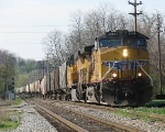 UP 6006 leadin' CSX K803 Southbound