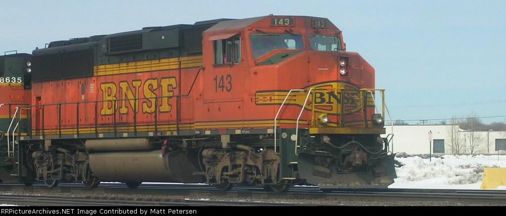 BNSF 143 GP60M