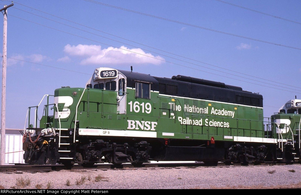 BNSF 1619