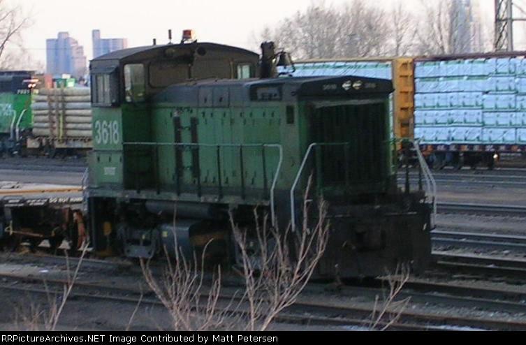 BNSF 3618