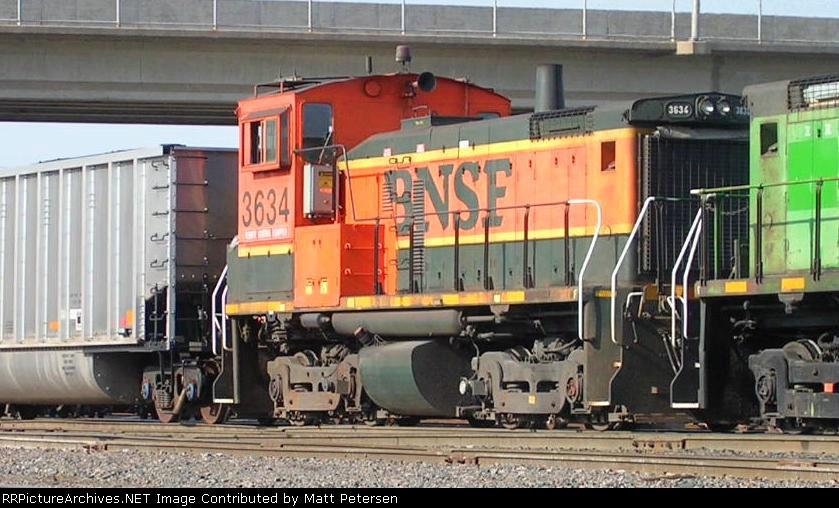 BNSF 3634