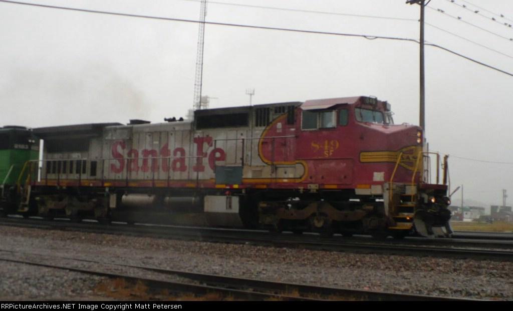 BNSF 849