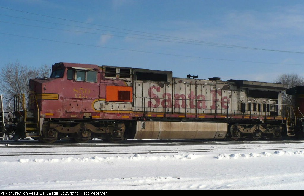 BNSF 850