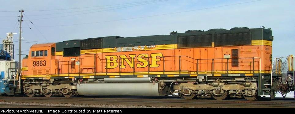 BNSF 9863