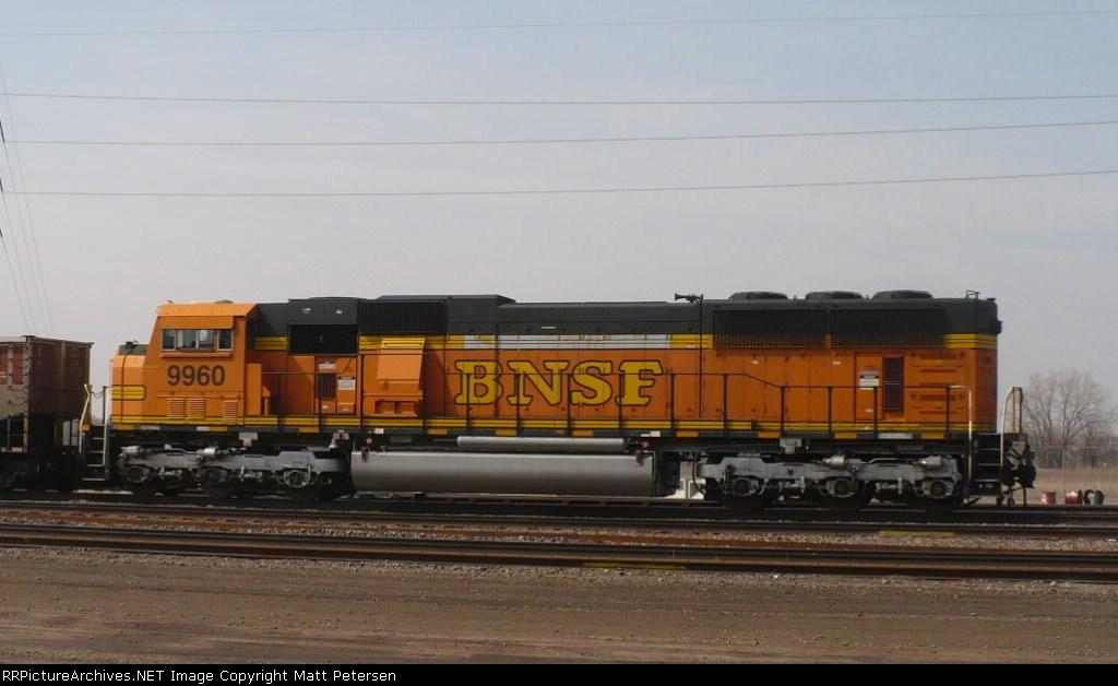 BNSF 9960