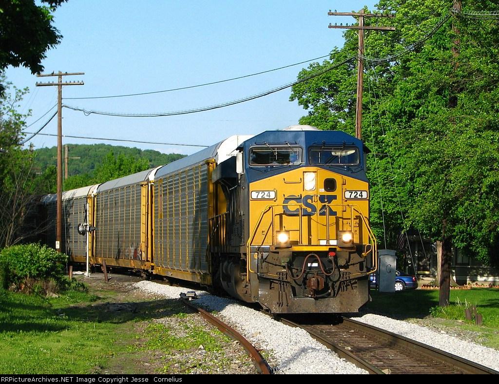 CSX 724 on Q259