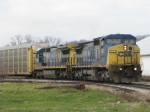 CSX 7652 on Q272