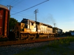 CSX 8069 before sunset