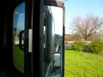 CSX 9045 in the mirror