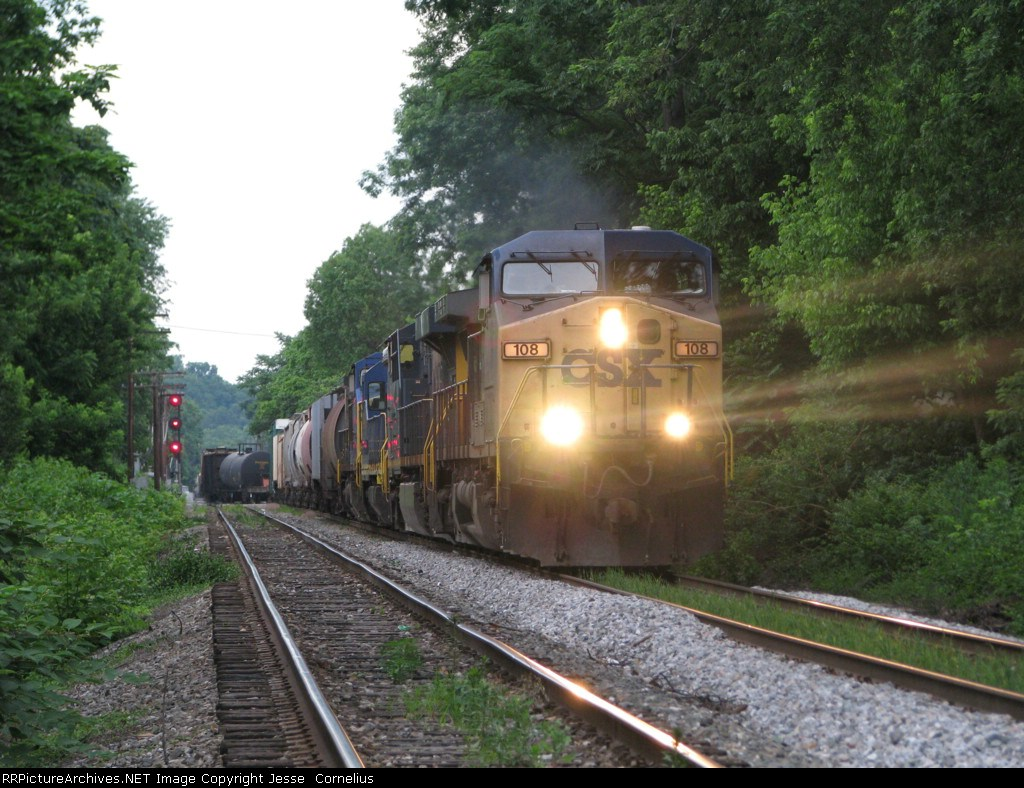CSX 108 on Q541 South