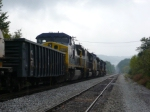 CSX 7711 on Q505 with a clear signal at the S. E. of Latonia