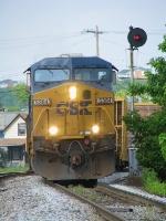 CSX 5384 leading Q505-02 Southbound