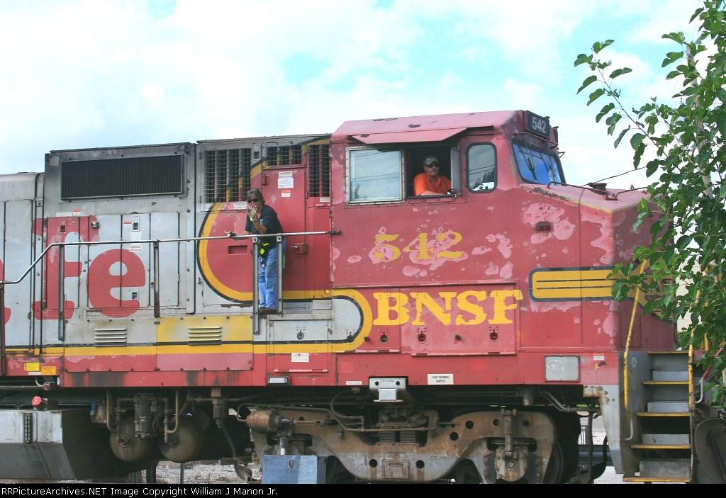 BNSF 542, Circus Train