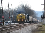 CSX K802 Northbound