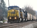 CSX 7690 leading K802 Northbound