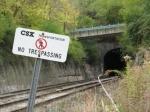 CSX Transportation NO TRESPASSING