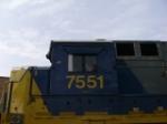 CSX 7551