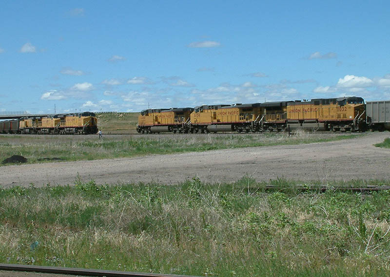 Coal Trains Meet