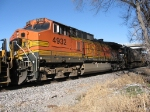 BNSF 4932 Pays Us A Visit