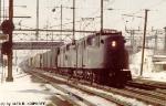 Conrail GG-1's 4889 & 4823 are north bound on the NEC,,