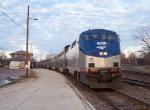 Southbound Amtrak Texas Eagle Train #21
