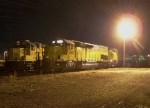 Northbound Manifest and Local Power Sleeping in the Yard