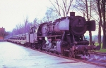 DB 2-10-0 #052 206-0 with Trainload of US Army Armored Cavalry Tanks