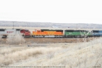 BNSF 8272 SD75M in coal load consist