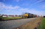 NS 101 - CSX Rerouted stack train