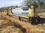 CSX 7504 sitting on the siding with a RARE surprise!!