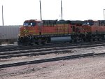 BNSF 7699 and 7899