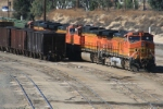BNSF 5258 leaves the West Colton Yard