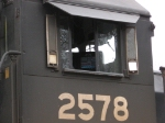 Looking Up at NS 2578's Cab
