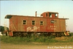 SLSF 1166 caboose at Mullins Station