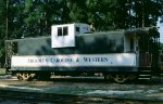 Former IC Caboose of unknown number