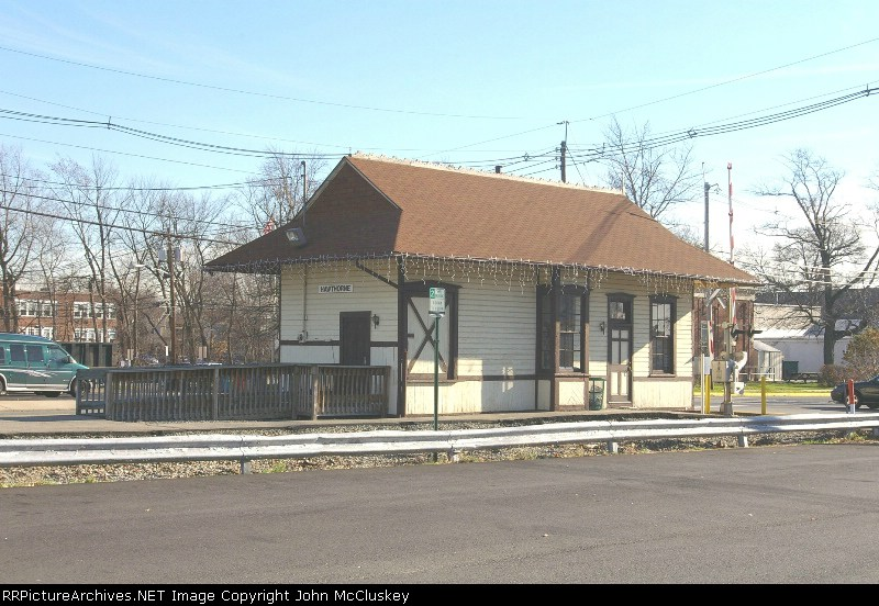 Old Station along the NYS&W