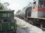 Train of storage cars