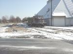 KSRY 503 and MKT 73 in snow on Kosciusko siding