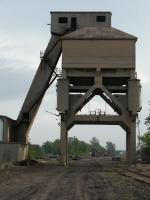 Santa Fe Coaling Tower Detail in Marceline Missouri in 2004