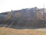 CSX J774 at the depot