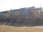 CSX J774 at the depot